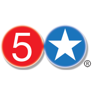 5 Star Burgers Logo - Albuquerque, Santa Fe, Taos, NM & Clayton, Kirkwood, MO