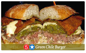 Five Star Gren Chile Burger