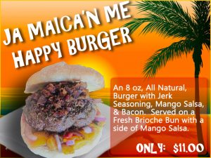 Burger of the Month - Ja' Makin Me Happy