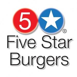 5 Star Burgers Logo